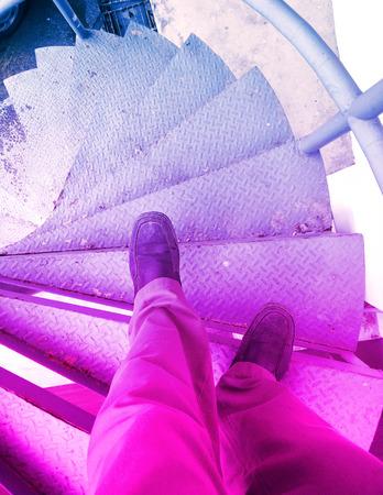 step ladder: step ladder