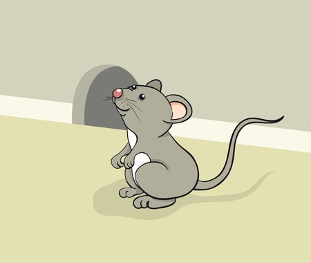 Fun mouse Vector