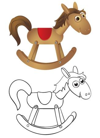 schommelpaard: