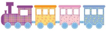 Babies train Ilustração