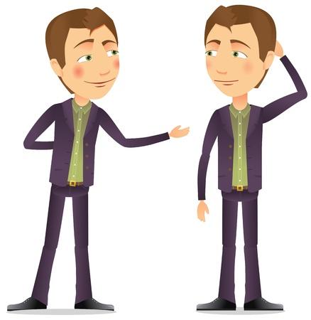 Ein Gespräch zwischen zwei Männern