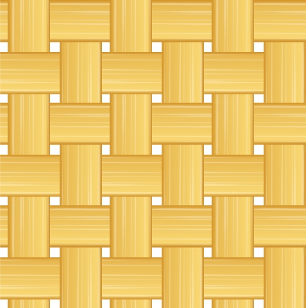 Woven straw seamless background Contains transparent objects used for strips drawing  Illustration