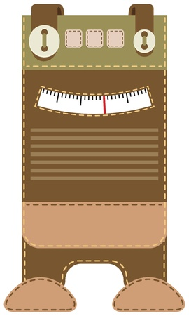 Case for mobile phone - radio Stock Vector - 21601669