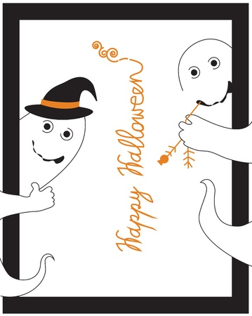 Halloween vector background Vector