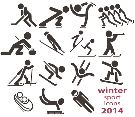 bobsled: Winter sport icons 2014
