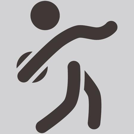 lanzamiento de disco: Verano iconos deportivos - icono lanzamiento de disco