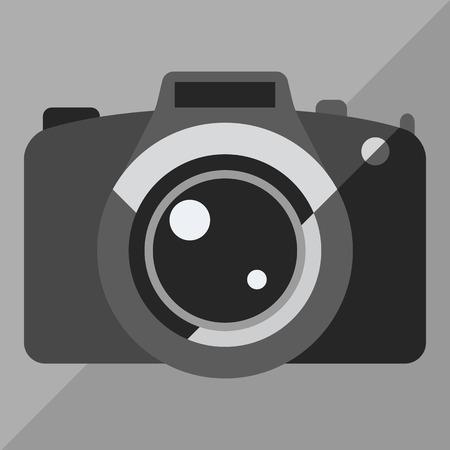 digital photo camera: photo camera icon