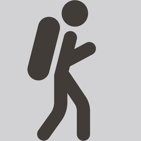 mountaineering: Extreme sports icon set - mountaineering icon