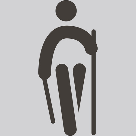 nordic walking: Nordic Walking icon