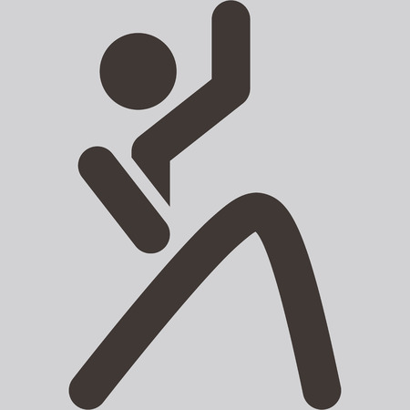 optimized: Health and Fitness icons set - aerobics icon optimized for size 32x32 pixels
