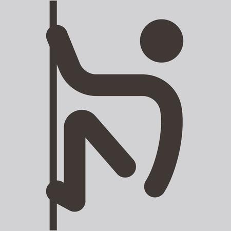parkour: Los deportes extremos conjunto del icono - icono de parkour est�n optimizados para el tama�o de 32x32 p�xeles