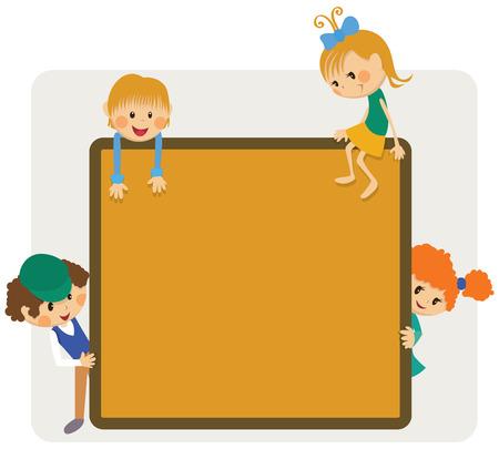 Kids frame notice