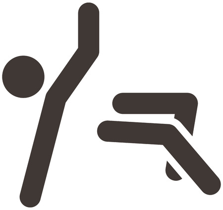 parkour: Extreme sports icon set - parkour icon are optimized