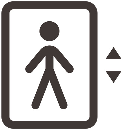up down: Elevator - up - down icon