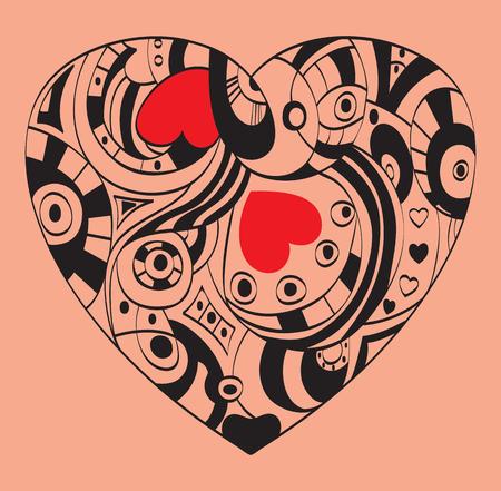 st valentin's day: The symbol of St. Valentin?s Day - Heart image