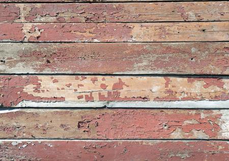 craquelure: Texture of peeling paint board Stock Photo