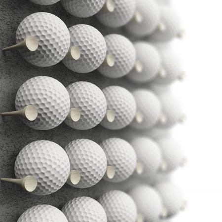 display: golf ball display rack