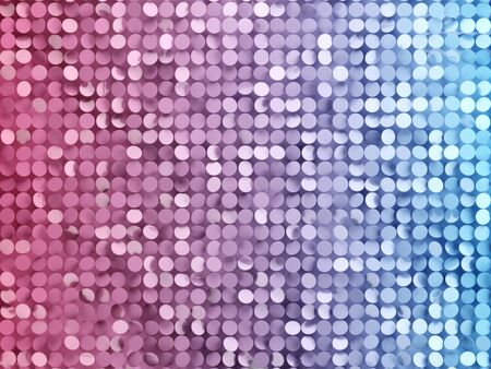 Confetti in vibrant bold gradient holographic colors. 3d illustration. 写真素材