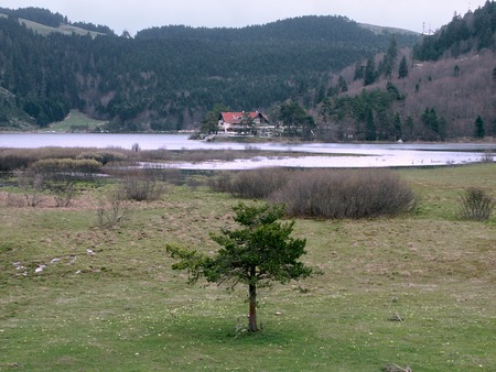 Lake Abant, Bolu Stock Photo