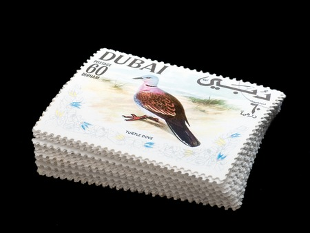 turtle dove: Stamp stack