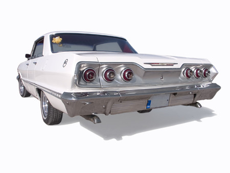 Back View of Impala 65