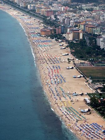 Alanya: Alanya beach