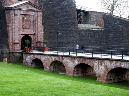 belfort: Belfort castle gate