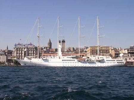 turkiye: Istanbul Port-Turkiye Stock Photo