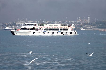 hagiasophia: Motorboat Stock Photo