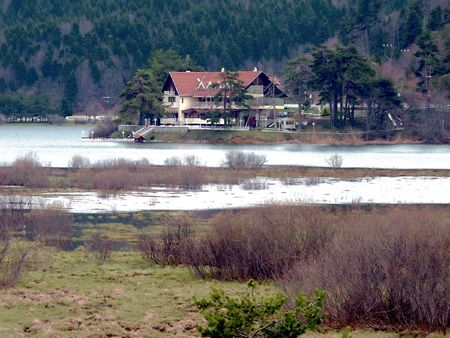 turkiye: Lake Abant Stock Photo