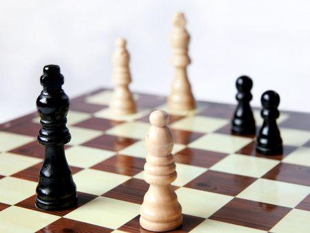 gamesmanship: Juego de ajedrez; Negro tiene ventaja