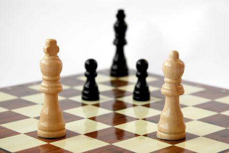 Chess board conquest Stock Photo - 3109052