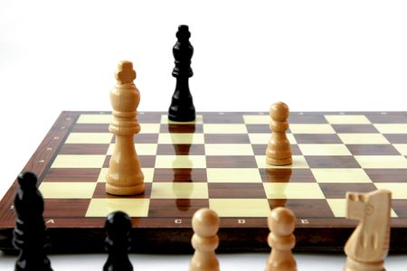 Game of chess coming to end Stock Photo - 3109050