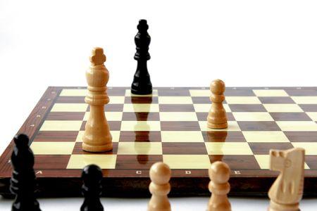 gamesmanship: Juego de ajedrez que vienen a fin