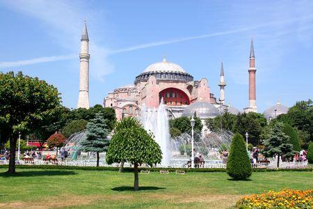 hagia: Hagia Sophia - Spring view