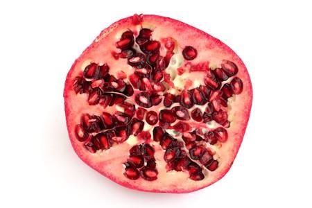 dainty: Half of pomegranate