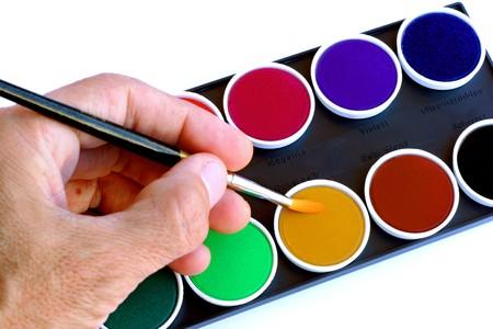 Artist hand Stock Photo - 4489621
