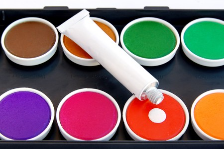 Water colors Stock Photo - 4489620