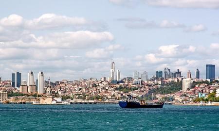 bosporus: Bosporus Istanbul Stock Photo