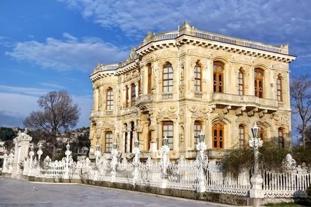 Sultans kiosk. Kucuksu - Turkije Stockfoto
