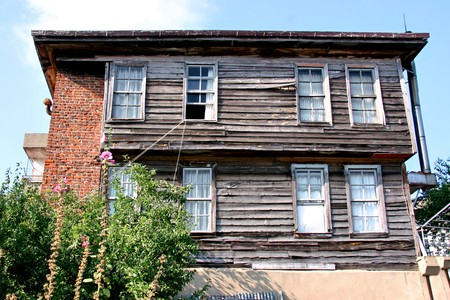 An old Amasra house Stock Photo - 4571442