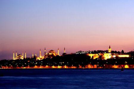 Een nacht met Istanbul boom nationale monumenten