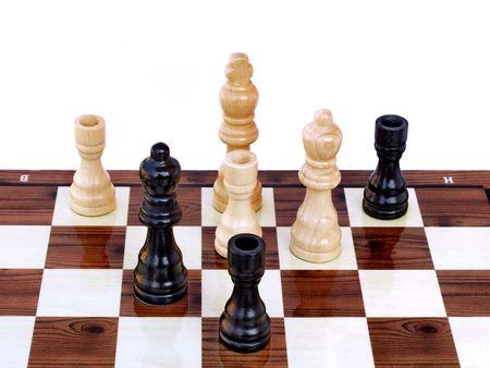 Schachmatt: Chess game, checkmate