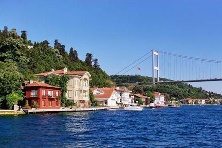 waterside: Waterside residences at Kanlica. Bosporus - Istanbul