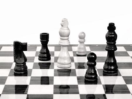 Mate: Chess game, check