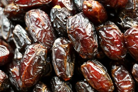 Sweet dates as background photo