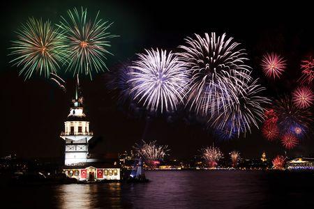 Festiviteiten in Istanbul, Salacak, Maiden Tower