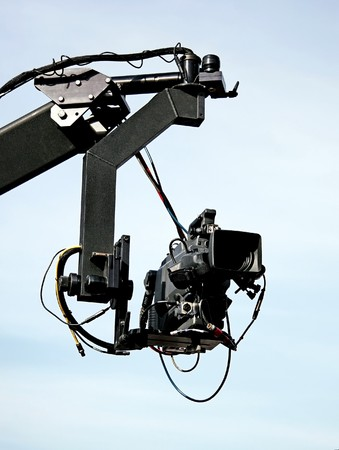 telecast: Jib camera in action