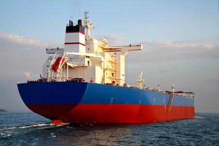 bulk carrier: Tanker ship