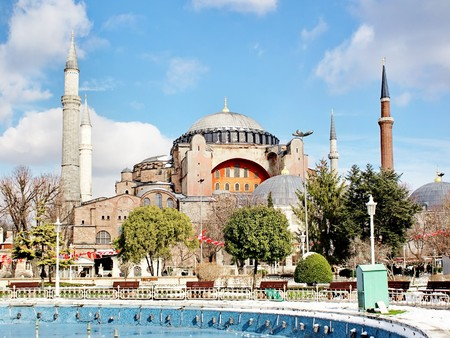 St Sophia also called as Church of Holy Wisdom. It was built between 532-537 AD. photo